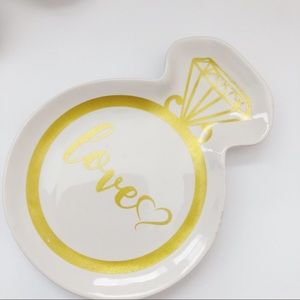 Love Jewelry Ring Tray NWT